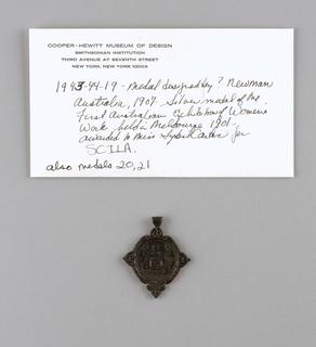 Medal (Australia), 1907