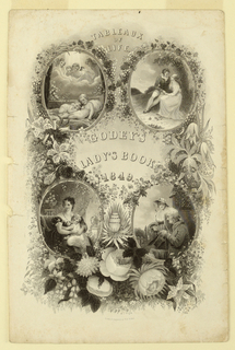 Print, Godey's Lady's Book, 1849