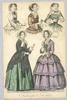 Fashion Plate from La Belle Assemblee