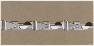Drawing, Link bracelet or necklace, ca. 1930
