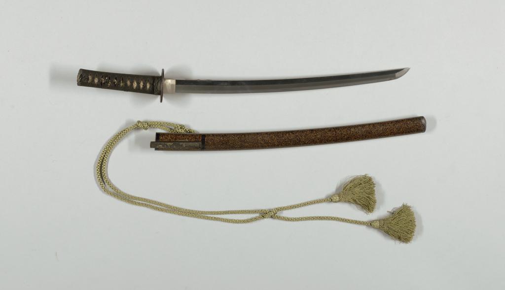 Wakizashi Scabbard, 17th–19th century
