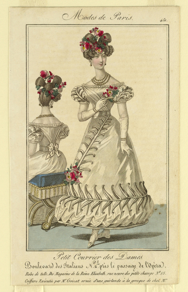 Print, Fashion Plate for Woman's, 1827