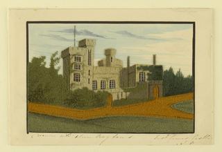 Picture, Port Cowes Castle, 1820–30