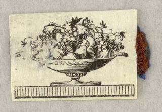 Fruit bowl on a base.