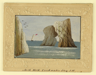 Picture, Arch Rock from Freshwater Bay