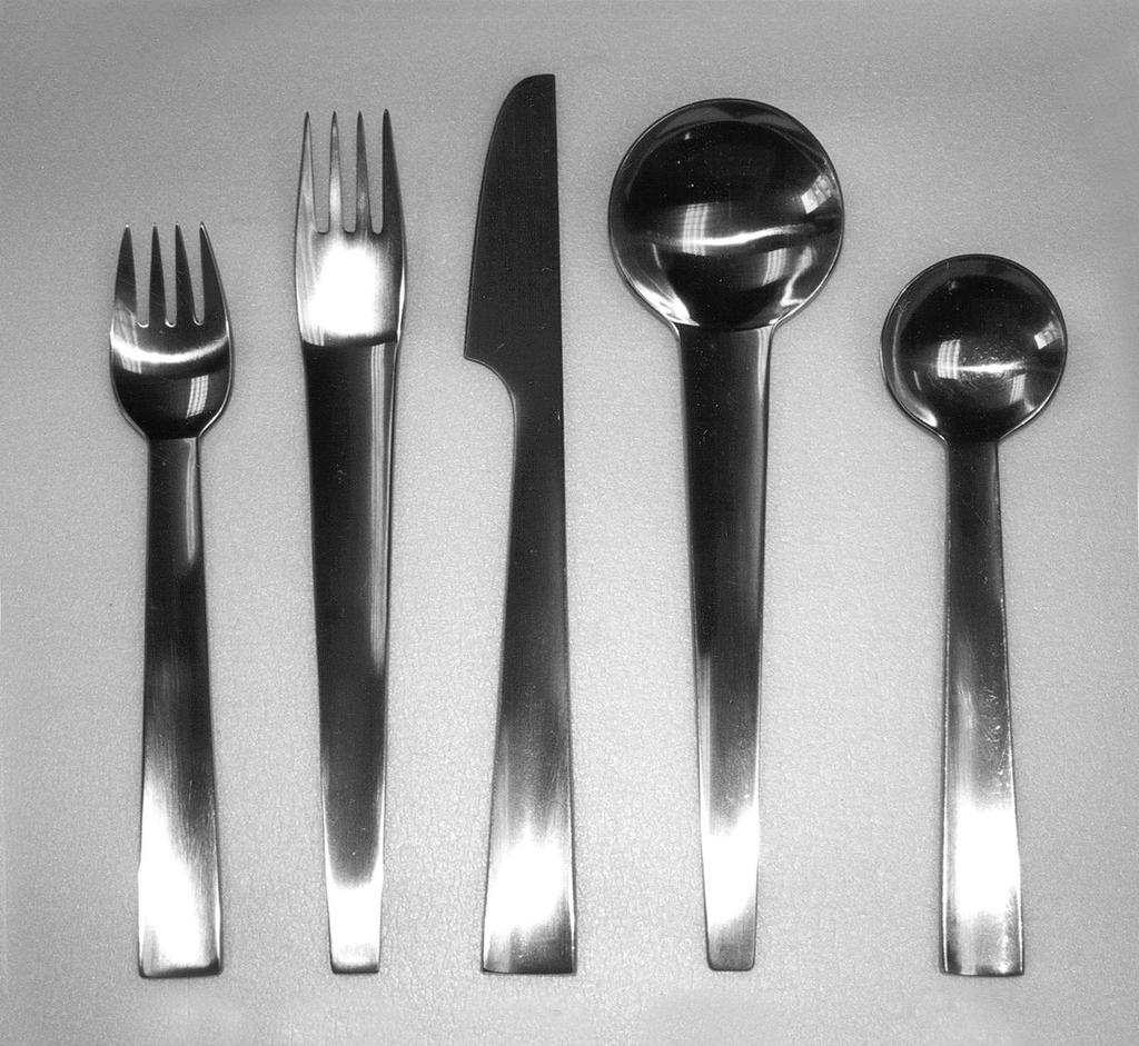 Chromatics Fork, designed 1970, marketed 1971–73