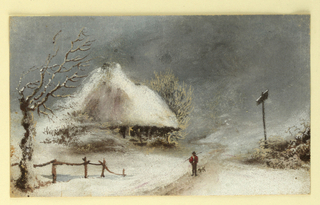 Picture, Winter Landscape
