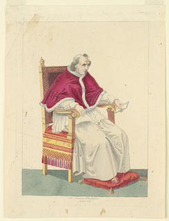 Print, Pope Pio VII