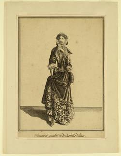 Print, Femme de Qualite