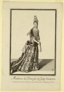 Print, Mme La Princesse de Conty