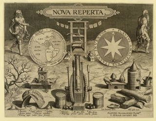 "Print, Title page of ""Nova Reperta"""