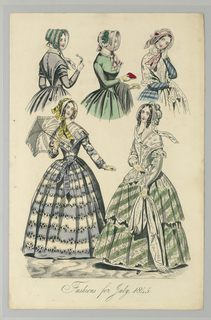 Fashion Plate from La Belle Assemblee