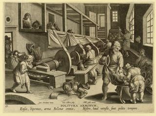 Print, Armor making and polishing