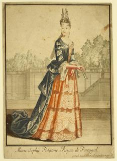 Print, Marie Sophie Palatine, ca. 1700