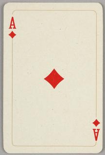 Card, Ace of diamonds, 1944–1945