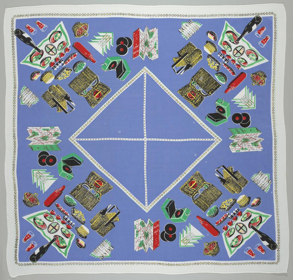 Picnic Cloth (England), 1950–59