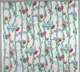 Textile, Floral Sketch
