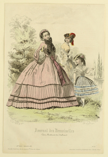 Fashion Plate from Journal des demoiselles