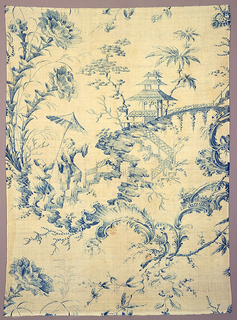 Textile, Chinese Figures