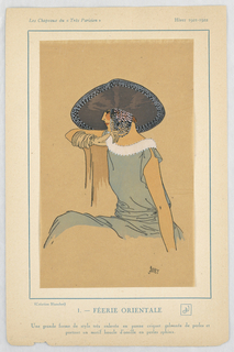Fashion Plate from Tres Parisien