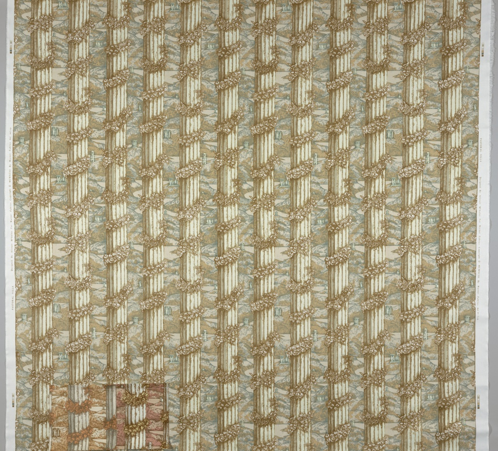 Textile, Pastoral Villa