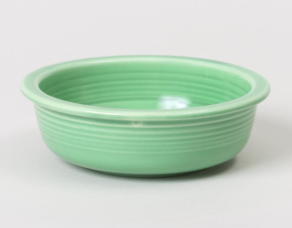 Light green fruit bowl.