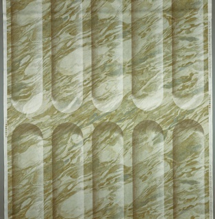 Marble texture with losenge-shaped figures in rows. Similar to the fluting on columns.
