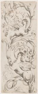 Print, Ornamenti o Grottesche (Grotesque Ornament)