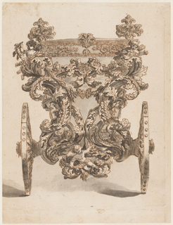 Drawing, State Coach, 1650–60