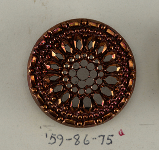 Button, 20th century