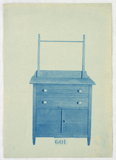 Blueprint, Designs for Wardrobes, Washstands, & Somno (Night Tables)