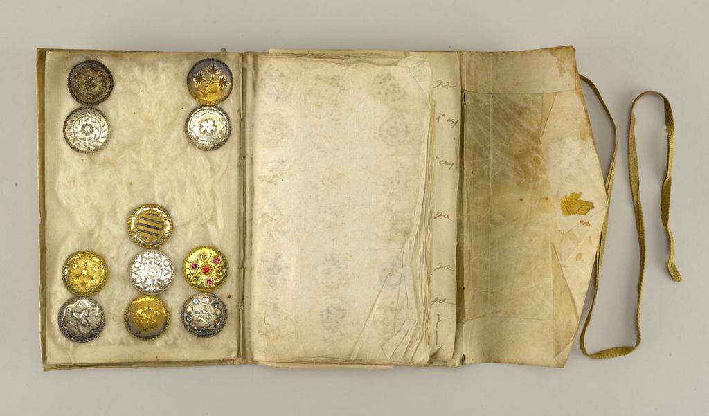 Button Sample Book