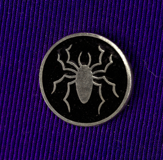 Spider Pin, ca. 1980–90