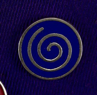 Spiral Pin, ca. 1980–90