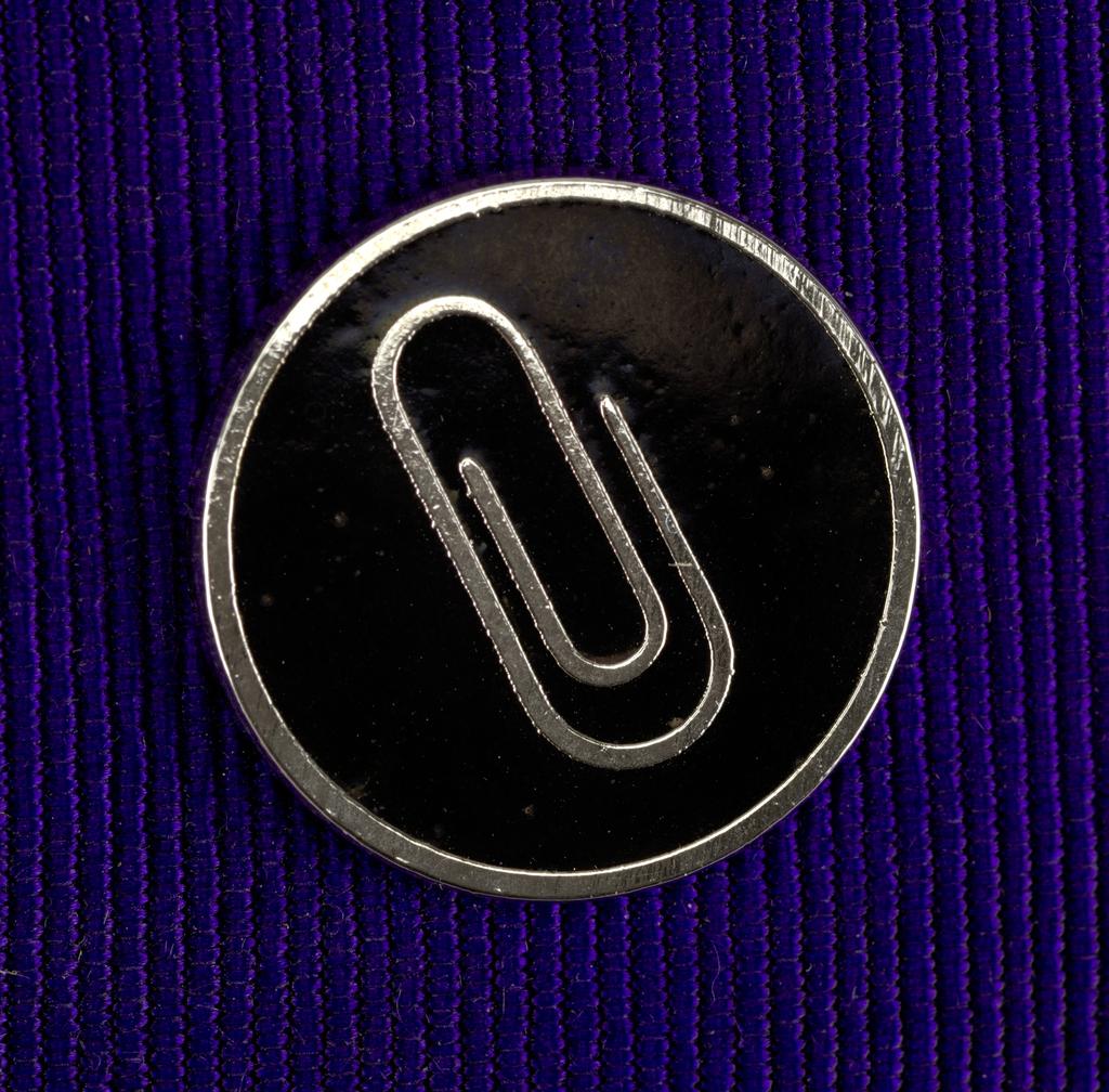 Paper Clip Pin, ca. 1980–90