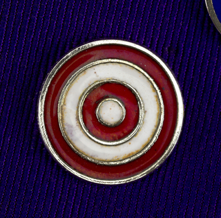 Concentric Circles Pin, ca. 1980–90