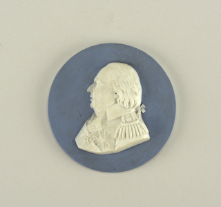 Portrait medallion: Louis XVIII, King of France, (1755-1824) Medallion, 1814–24