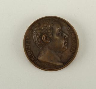 Bust Ennius-Quirinus Visconti (1751 – 1818).