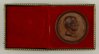 medal commemorating Daniel Webster