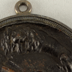 chariot and helmet