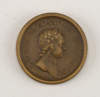 Medal commemorating Louis XIV and defeat of Duke of Bavaria.