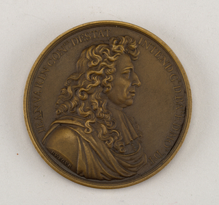 Medal commemorating Jean Varin.