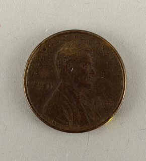 One Cent,current Money