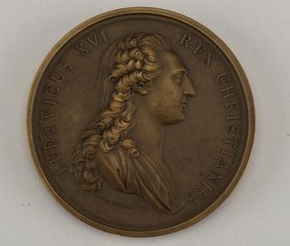 Medal commemorating Louis XVI.