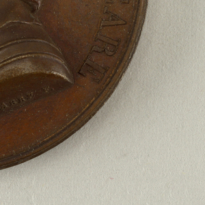 Galerie métallique des grands hommes français (Great Men of France) Medal, 1823