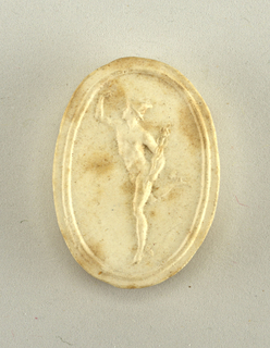 Plaster Cast, Antique Cameo