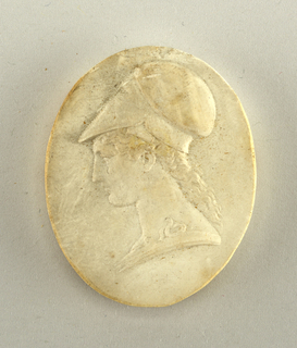 Plaster Cast, Antique Cameo