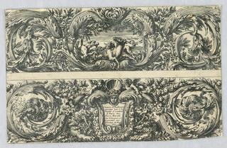Print, Two Friezes, 1663