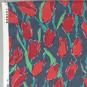 Textile, Tulip, 1990