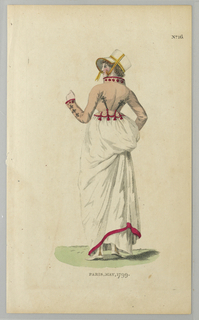 Dress with Spencer jacket from Londom Magazine, 1799.